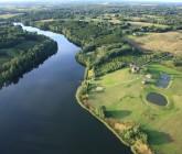 Ilgio ežeras iš paukščio skrydžio