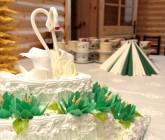 Klasikinis vestuvinis tortas